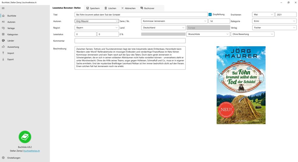 Buchliste Software Bücher Wunschliste
